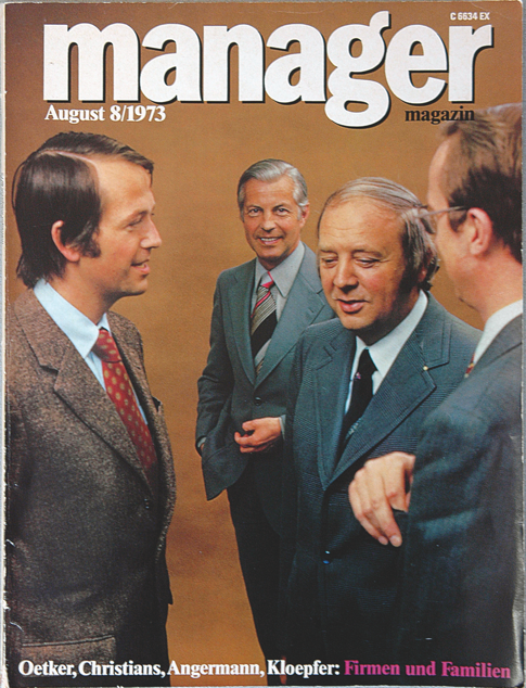 Manager magazine, August 1973